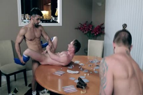 Three homo men Have A raunchy collision