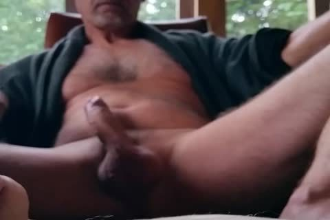 Jerking On The Porch, Using My Hands And Feet.