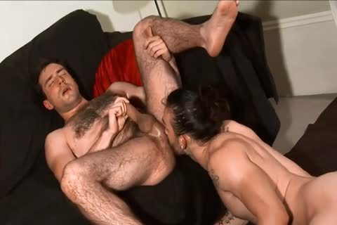 darksome-haired males engulfing And nailing.