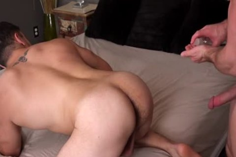 Muscle gay ass sex And spooge flow