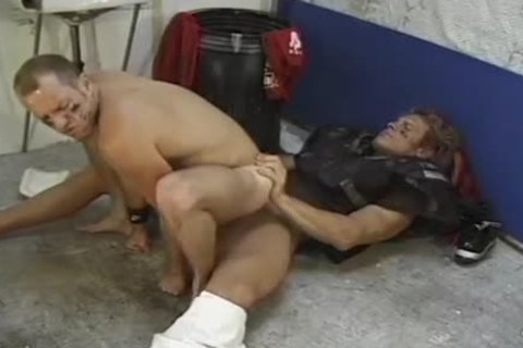two Sports males engulfing Their penises In Their baths