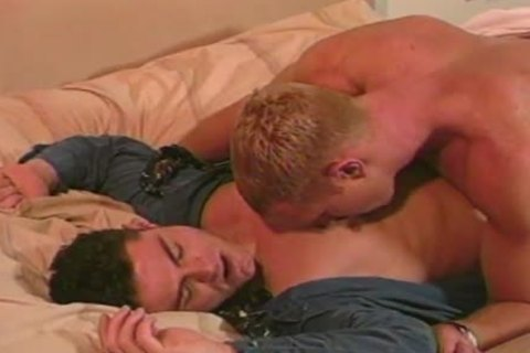 Dave Russell And Dax Kelly worthy homo males In Action