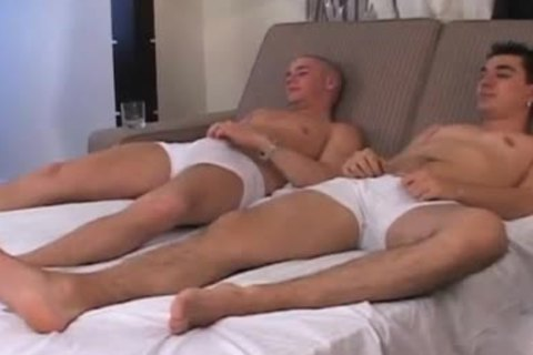 superlatively wonderful allies Jack off jointly Porno homo