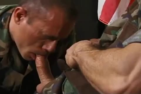 Army boy sucks and bonks daddy captains ...