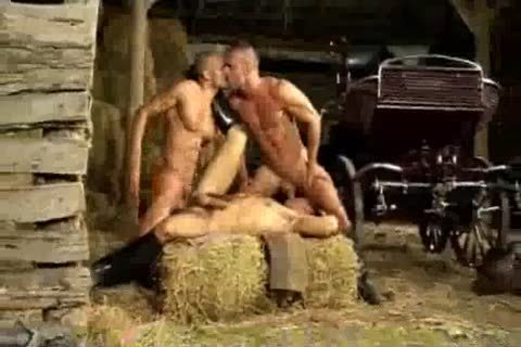 Barn three-some