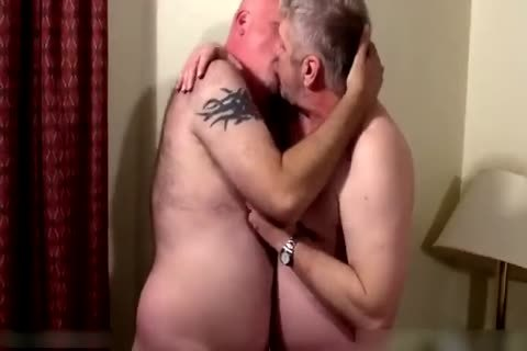 Two palatable daddies in bedroom