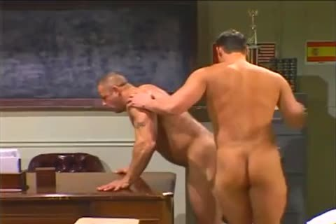 The trainer Taking Hunky Students large ramrod