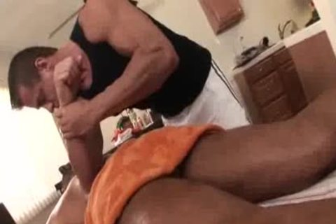 daddy Massage Turns agreeable