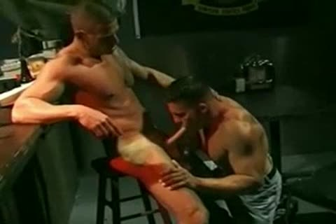 delicious Military dude banging Bartender