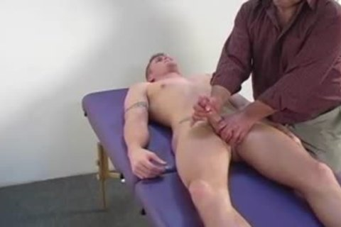 Massage And A cook jerking