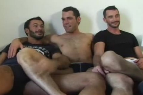 three-some Feet Licking & engulfing & nailing