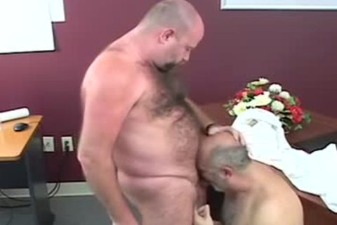 admirable-looking overweight Bears banging After Giving oral sex-stimulation-service