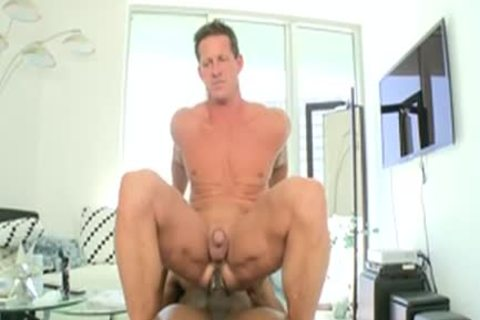 Izzy In White lad Ridding A biggest darksome cock