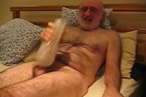 Richard stroking And Cumming With A Fleshlight