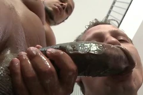 massive darksome rod Lubed And Ready To Stretch arsehole