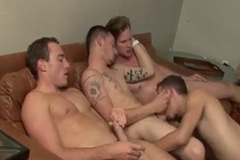 The 4 Musky Queers - Factory clip scene