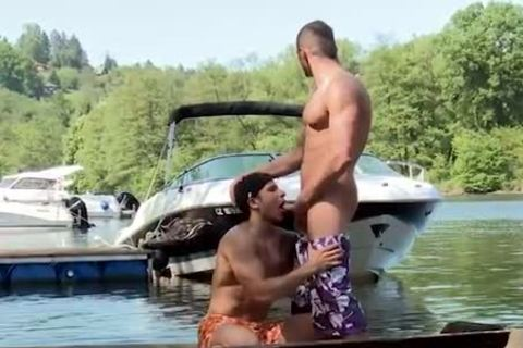 engulfing ramrod And Getting nailed On A Boat