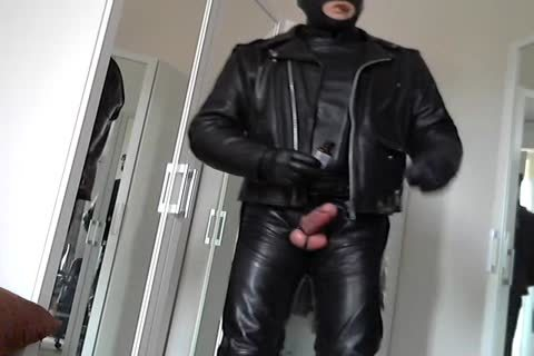 Leather Biker Rubber Poppers Masked And Plug backdoor Smoke Cigare