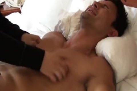 moist And worthy Muscle Hunk fastened And Tickled - Dante Brice