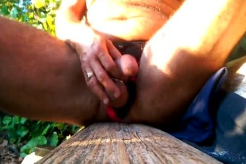 Me stroking In A lengthy Unabashed Masturbation Session In excited Stanley Park.