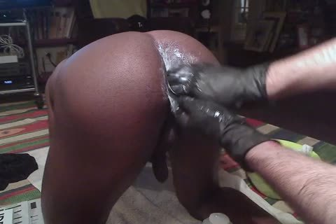 Blackdanus, An Incredibly fashionable juvenile darksome lad Has A Very Accomodating (and wicked) arsehole, Used To Dildos, But that chap not ever Took A Fist. This Is Our First Session. Hand Not Entirely Inserted, But not quite There. Next Time, I'm