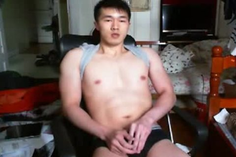 A yummy Chinese Hand Job In web camera
