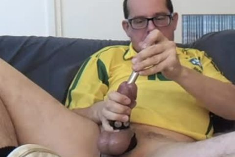 Masturbating thirty Minute Session. Half Hour Of Cbt And Urethra Sounding. I Marked (color Tip) My Sounds So u Could Clearly watch The 16, 17 And 18mm. Wearing My Yellow Brasil Soccer Shirht, Sniffing A Lot From The Yellow Little Bottle.