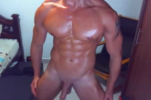 moist guy On cam Dance And jack off