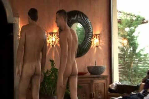 Three juvenile homosexual males Enjoying Sex jointly
