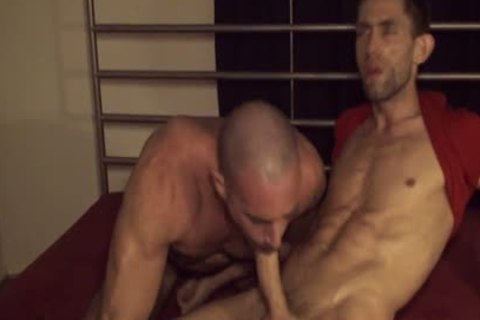 Well-hung homo Sex Beasts In A admirable Porno!