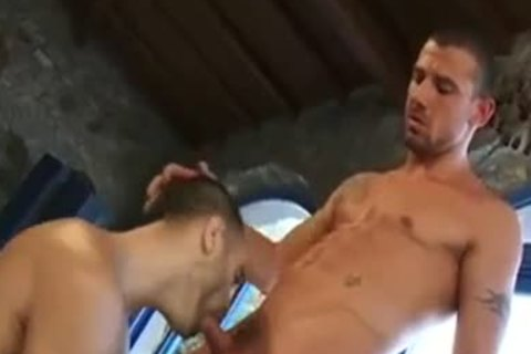 Great wazoo Show With Dildos Of Two yummy Hunks