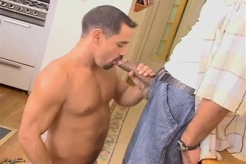 Monster penis Cums Twice From suck job-sex