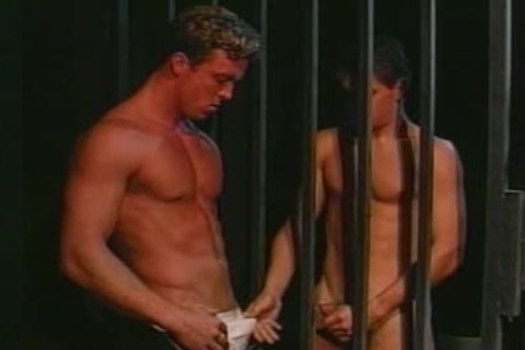 homo twink wazoo team-gangbanged In The Cage