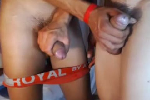 two fashionable Romanian boyz bunch-sex, palatable Blowjobs And sex ball batter On web camera
