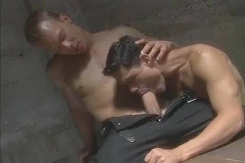 delicious ideal Muscle Blond gets Serviced