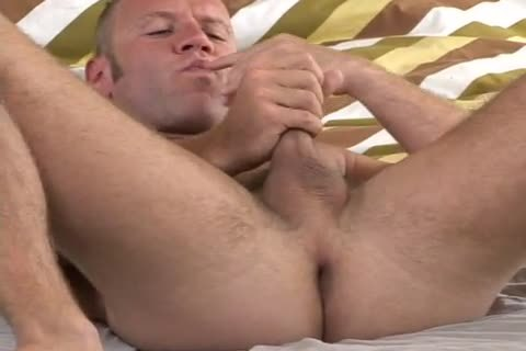 Troy Punk Toying & stroking