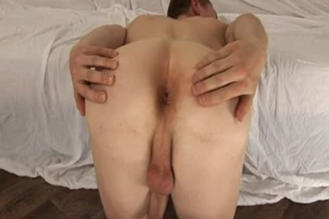 Anton Malac acquires arsehole Stretched With A fake dick