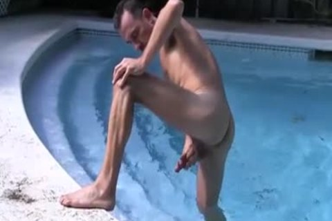 large curly And Hung Daddy Victor Jacking Off