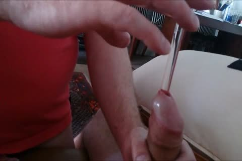 A Buddy And I Were Watching Some XTube clips, And Got Super excited To Sound Our penises.  did not Take lengthy Form My Buddy To Take Over My ramrod And Sound It lengthy, Hard And deep Till I discharged My Load