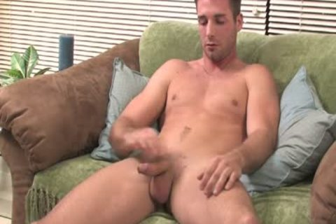 lad Moans From enjoyment whilst Jerking His biggest plump penis