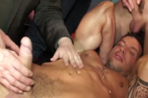 Euro Hunk Drenched In love juice During fuckfest
