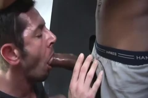 Worshipping A monstrous cock