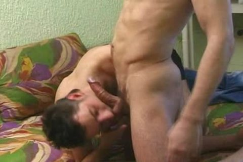 Two homo Roommates Sodomize At Home