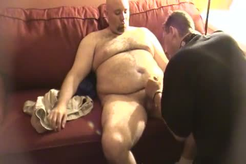My Daddy Met This Furry Trucker Daddy Who Wanted To Work Me Over. No sex semen discharged But Still moist palatable.