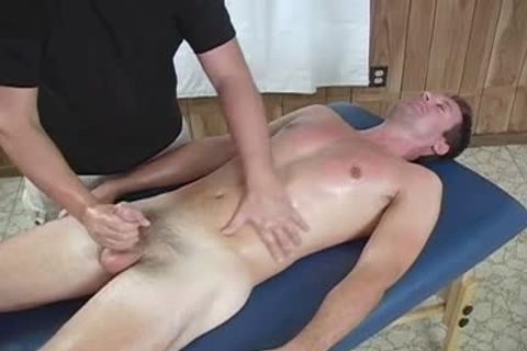 A Massage From An daddy excited homo lad