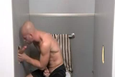 Gloryhole bare In crap-house