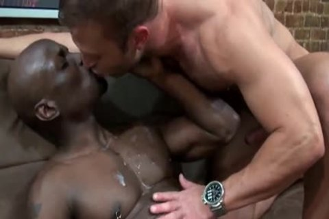 large darksome And pumped up Beefcake Jay darksome And Jr Bronson