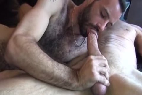 admirable Daddy BB drills hairy twink