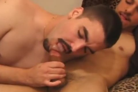 Sean And Adrian engulf cock