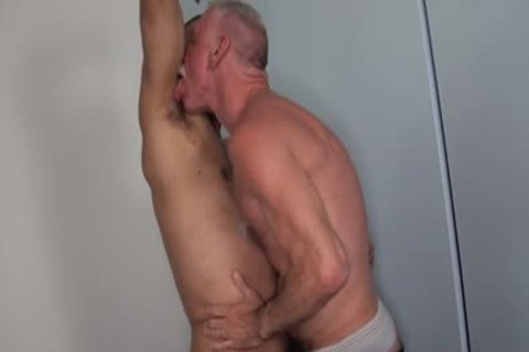 Silvers Daddies fuck Hard in nature's garb